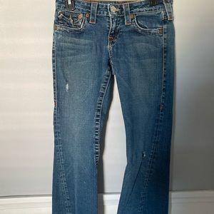 True Religion Vintage Flair Jeans